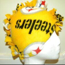 Fringe ~ Mohawk Fleece Hat ~ Pittsburgh Steelers Yellow (S/M)