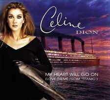 My Heart Will Go On [Single] by Céline Dion (CD, 1997, Sony Music...