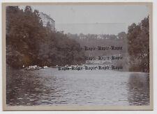 Weilburg.Rudern auf d.Lahn.Rückseitig:Sonntag,19.8.1906/ 11-12 Uhr. Foto
