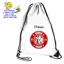 Sac de piscine sac de gym sport judo personnalisable avec prénom réf 61