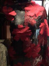 Vintage Style Sheer Brocade Pashmina Paisley Scarf Wrap Shawl