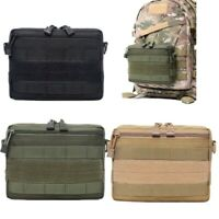 Tactical Molle First Aid Kit Outdoor EDC Pouch Accessory Compact Bag Belt Pouch