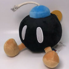 New Super Mario Bros. Plush Bob-omb Bomb Soft Toy Doll Stuffed Animal 6.5""