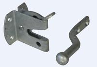 NEW Auto Gate Latch Catch Steel Zp Zinc Plated ANDScrews 1819 2 Inch 50Mm 1 pc