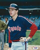 WALLY JOYNER ANGELS SIGNED 8X10 AUTOGRAPH PHOTO JSA STICKER