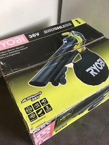 Ryobi 36v Cordless Blower Vacuum RBV36B New