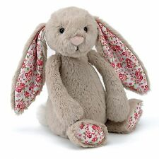 Jellycat Medium Beige Blossom Bashful Bunny - BL3BBN