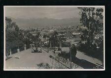 Chile SANTIAGO Terraza del Sta Lucia 1936 RP PPC