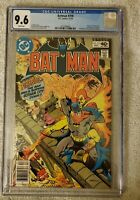 Batman 318 CGC 9.6  Origin & 1st app of Firebug