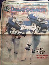 """"""" NFL Dallas Cowboys Official Weekly Magazine October, 29, 1983; Vol. 9, No.20"""