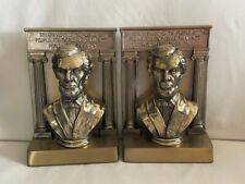 Vintage Abraham Lincoln Bookends