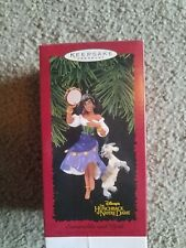 Hallmark 1996 ESMERALDA and DJALI Ornament Disney Hunchback of Notre Dame NIB