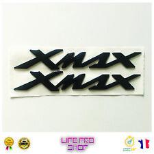 Autocollants latéraux 3D Yamaha X-MAX NOIR - 125, 250, 300, 400