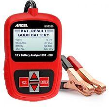 Universal 12V Batería Comprobador de tensión Automotive con clips de cocodrilo 100-1100CCA coche