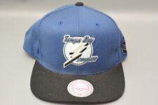 Tampa Bay Lightning Mitchell & Ness Nostalgia NHL Wool Snapback Cap Hat One Size