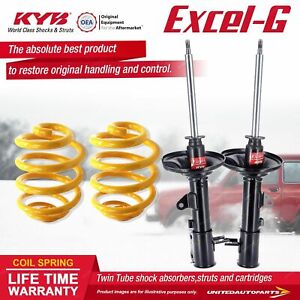 Rear KYB EXCEL-G Shock Absorbers Lowered King Springs for KIA Cerato LD 2.0 I4