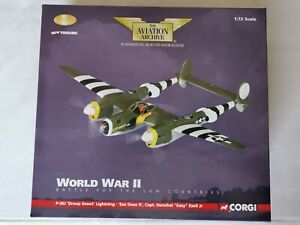 Corgi Aviation Archive 1/72nd P-38J 'Droop Snoot' Lightning