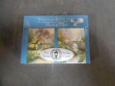 """2"" Decks SEALED Thomas Kinkade Painter of Light Bridge Playing Cards (A4)"