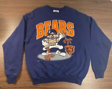 Vintage 90's Mens Chicago Bears Tazmanian Devil Crew Sweatshirt Size Xl