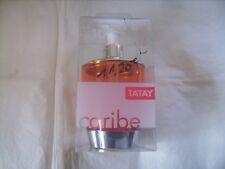 "Distributeur à savon liquide ""TATAY"" gamme Caribe orange neuf emballé"