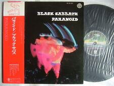 BLACK SABBATH PARANOID / RED OBI VERTIGO