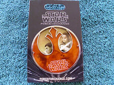 Disney Star Wars * FORCE FOR CHANGE - LAST JEDI * New on Card JUMBO Trading Pin