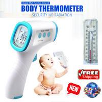 Digital LCD Non-contact Infrared IR Handheld Forehead Thermometer Temp Gun UK
