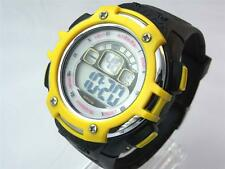 Sports Digital Watch Water Resistant Alarm Day Date Watchlight Men Boy Stopwatch