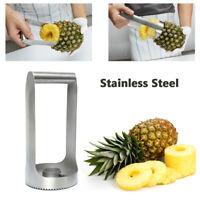 1PC Pineapple Slicer Stainless Steel Cutter Peeler Fruit Corer Gadget Kitchen