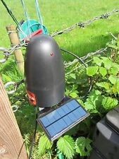 "Solar power kit for Shrike electric fencer, zero maintenance, ""fit and forget"""