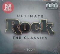 ULTIMATE ROCK THE CLASSICS - DEEP PURPLE FOREIGNER - RAMONES  MOTORHEAD - 5 CDS