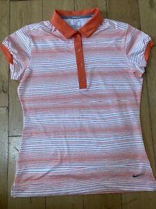 Ladies Nike Golf Tour Performance Polo Shirt Size M
