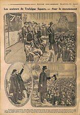 recruitment Speaker Orator Trafalgar Square City of Westminster London WWI 1916