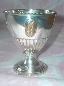 Antique Old Sheffield Silverplate Neo Classical Style Goblet, 1800-1849