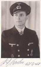 More details for karl -friedrich merten- u-boat commander signed 5.5