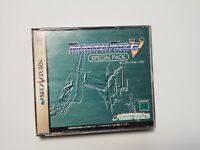 Sega Saturn Thunder Force 5 V Special Pack Japan Import SS Game US Seller