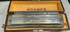 1955 Hohner 64 Chromonica Professional Harmonica Germany w/ Original Case
