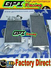 Aluminum radiator kawasaki kx125 KX 125 2 stroke 90 91 92 1990 1991 1992