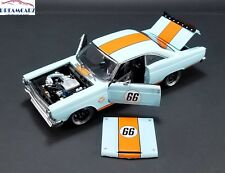 GMP 18858 1/18 1966 Street Fighter Ford Fairlane - Gulf Oil #66 - Lmtd 600 pcs!