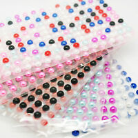 216 5mm Pearl Stickers Single Self Adhesive Stick On Gem Craft Bead Decoration