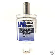 LPG GPL Gasfilter 14mm Autogas Filter CNG mit 67R Nummer