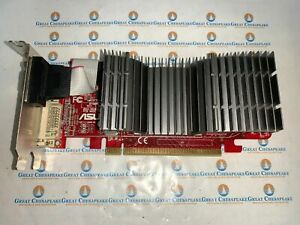 ASUS EAH4350 SILENT/DI/512MD2/A PCI-E 512MB DVI VGA HDMI Video Card TESTED!