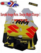 New Suzuki RM 125 96 97 98 WAMC Rad And Tank Graphics Sticker Decal Kit