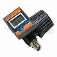 """1/4"""" Air Flow Regulator with Digital Pressure Gauge LEMATEC for Spray Gun Paint"""