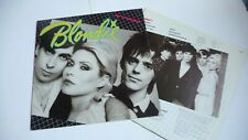BLONDIE EAT TO THE BEAT LP ORIGINAL UK 1979 EX PUNK
