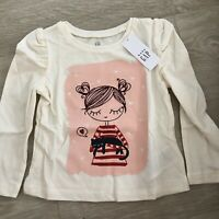 ❗️SALE❗️Baby Gap Girls Toddler Long Sleeve Shirt. 12-18 Months. New With Tags.