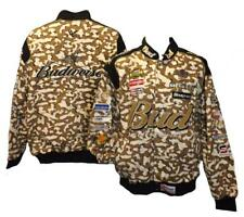 New Dale Earnhardt Jr. #8 Bud Budweiser XL XLarge Camo Chase Authentic Jacket