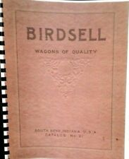Birdsell Wagons Of Quality Sales Manual Catalog No.21 Complet Product Catalog FS