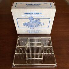 Oneida Silverplate Buffet Caddy Utensil Holder