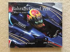 Bahrain Grand Prix - Hardback Photographic Record Book - John W Scott - Signed